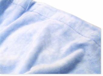 クイーンサイズの綿毛布