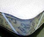 ベッドパッドは、ベッドマットレスの上、ボックスシーツの下に敷きます