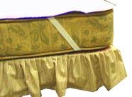 ベッドの上に寝具を敷く順番:マットレスの上はベッドパッド