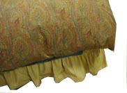 ベッドの上に寝具を敷く順番:最後に掛け布団をかけます