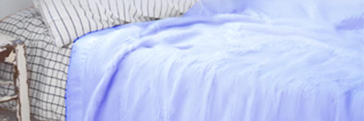 シール織綿毛布
