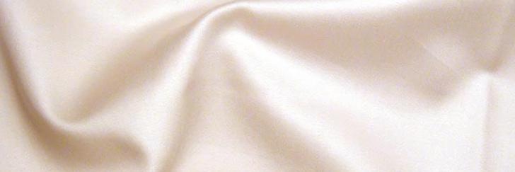 綿サテン織生地