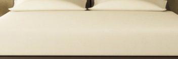 ワイドダブルベッド用ボックスシーツ