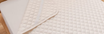 洗えるベッドパッド抗菌防臭しっかりタイプ